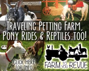 Farm To You Revue - Traveling Petting Zoo, Pony Rides and Reptiles too!