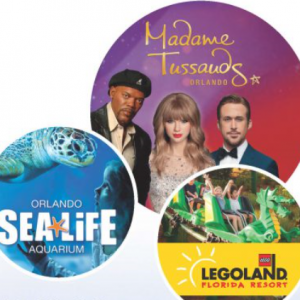 01/01 - 12/31 Florida Teacher Pass: LEGOLAND, Madame Tussauds & SEA LIFE Orlando