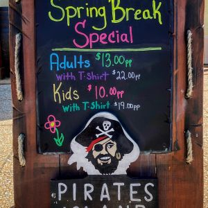 Pirate's Island Adventure Golf Spring Break Special