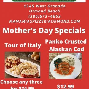 MaMa Mia's Mother's Day Food Specials